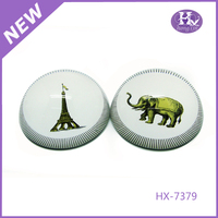HX-7379 Custom Souvenir Printing Crystal Paper Weight