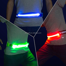 Running Belt with USB Rechargeable LED Light - Fanny Pack phone pouch for runners