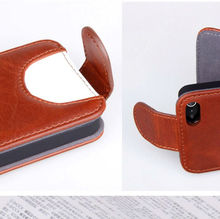 High quality case for iphone 5,water proof leather case cover