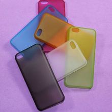 Colorful Transparent Ultra thin PP slim case for Apple iphone 5c smartphone accessories in Guangzhou