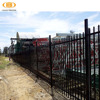 low price decorative wrought iron fence panels,europe iron fence