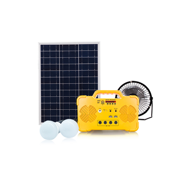 Alibaba Export ABS+PC Solar Power System Home with FM and Music Player