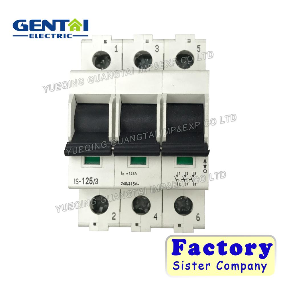 Good Quality 1p 2p 3p 4p L7 Isolator 60a Main Switch Circuit Breaker ...
