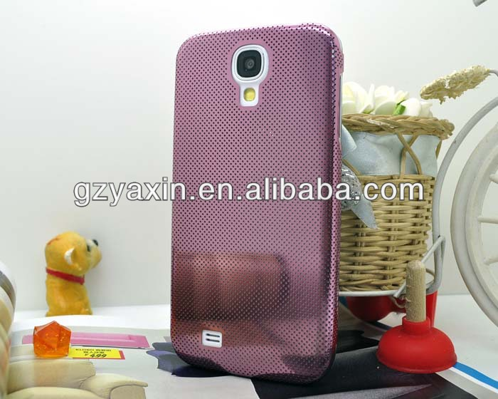Metal bumper case for samsung galaxy s4,high quality Aluminum Phone Case for Samsung Galaxy S4 I9500