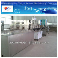 aluminum can filling and capping production line in China