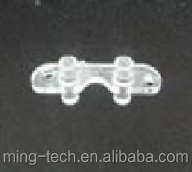 Injection molding plastic acrylic PMMA light guide plate part on electrical product
