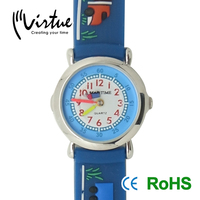 Boys Fashion Silicone Jelly Watch