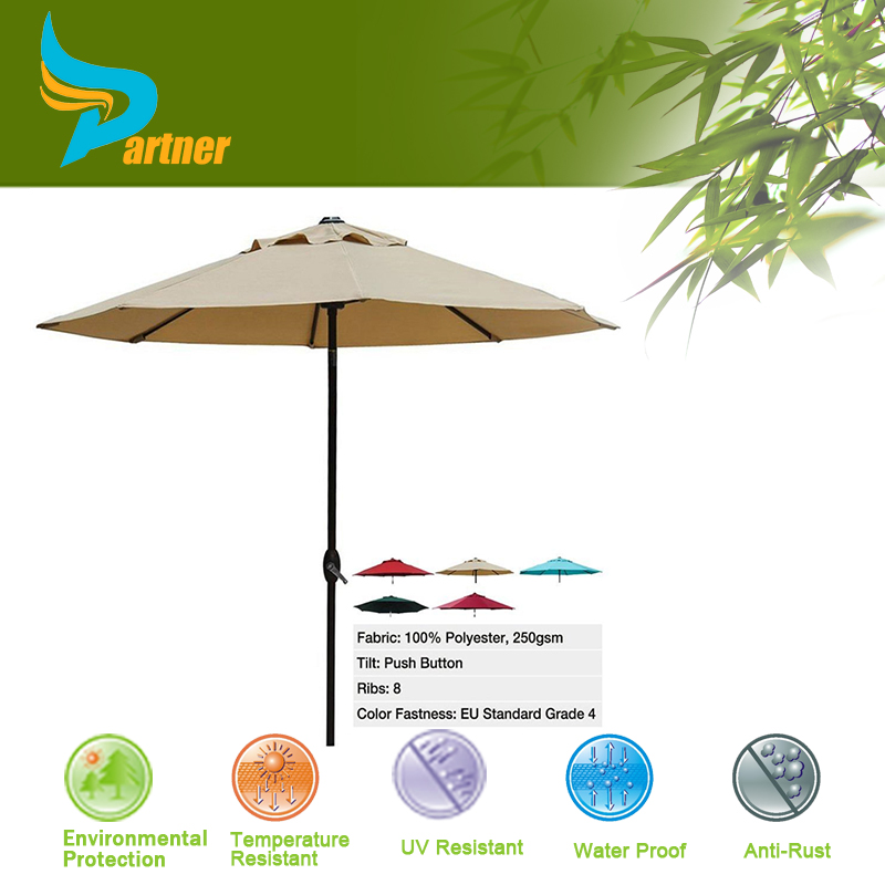 Custom Design Polyester Cheap Cantilever Patio Umbrella Garden Offset Umbrella