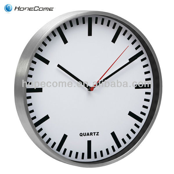 (M1015) office aluminum large decorative wall clocks