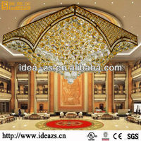 modern crystal lights sell christmas light for decoration chandelier hotel project