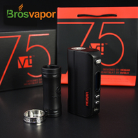 2016 Lastest Product Original Evolv DNA75 26650 battery and 18650 Battery Box Mod Hcigar VT75