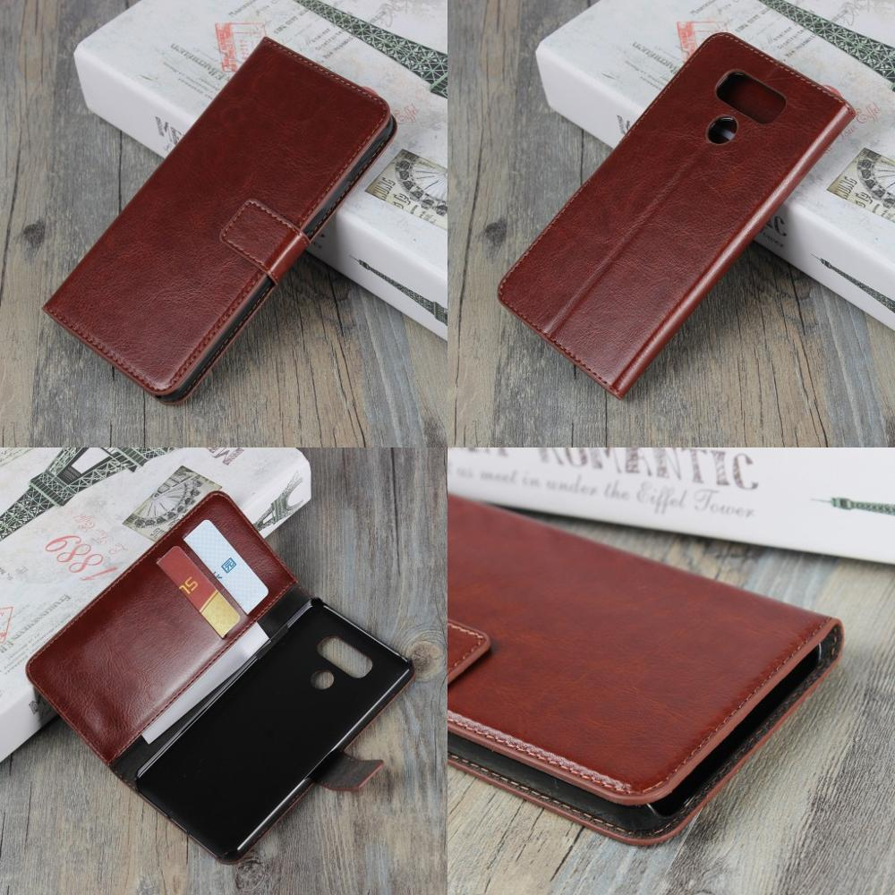 Factory Wholesale Cheap Price Retro Crazy Horse Wallet PU Leather Case for LG G6 Cover Coque Euti Funda