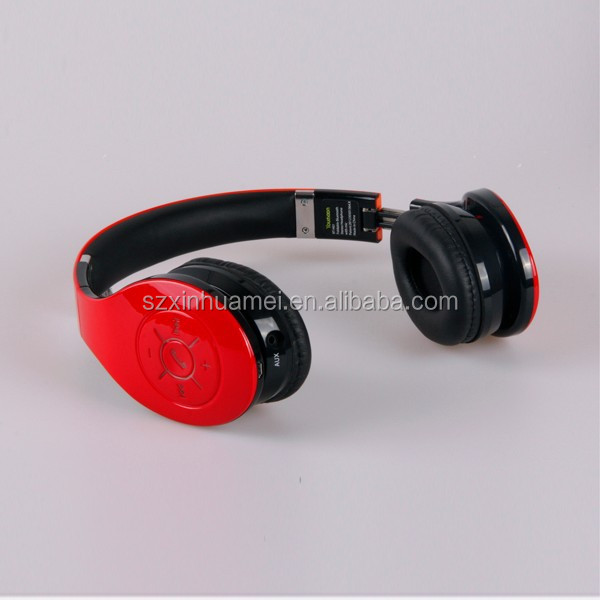 New Hi-Fi Stereo Bluetooth Headphone Headset work for Samsung Android smart cell phone; Apple Phone and almost all Tablet PC