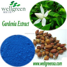 Chinese plant extract extract powder Geniposide 10%-98%|cape jasmine fruit extract| gardenia extract