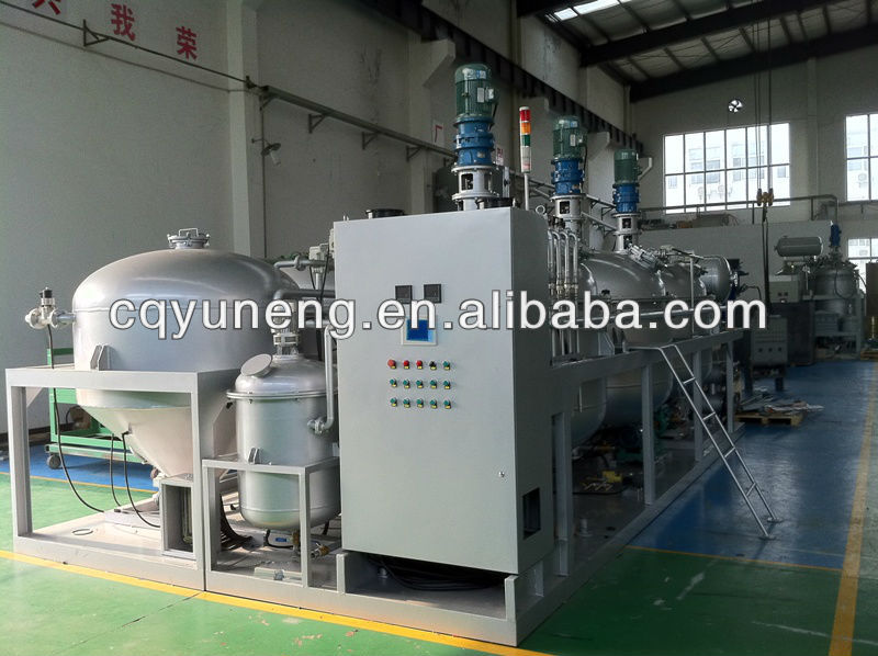Used Engine oil Reconditioning Machine