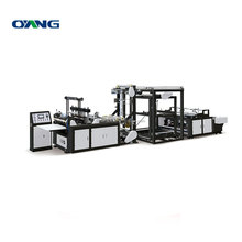 High quality environmental non woven vest bag making machine
