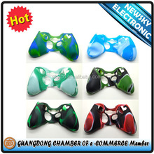 Charming Camouflage Silicone Skin Case Cover for Xbox 360 Controller Silicon Case for Xbox