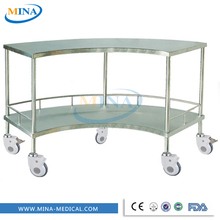 MINA-IT039 stainless steel mobile surgical instrument table