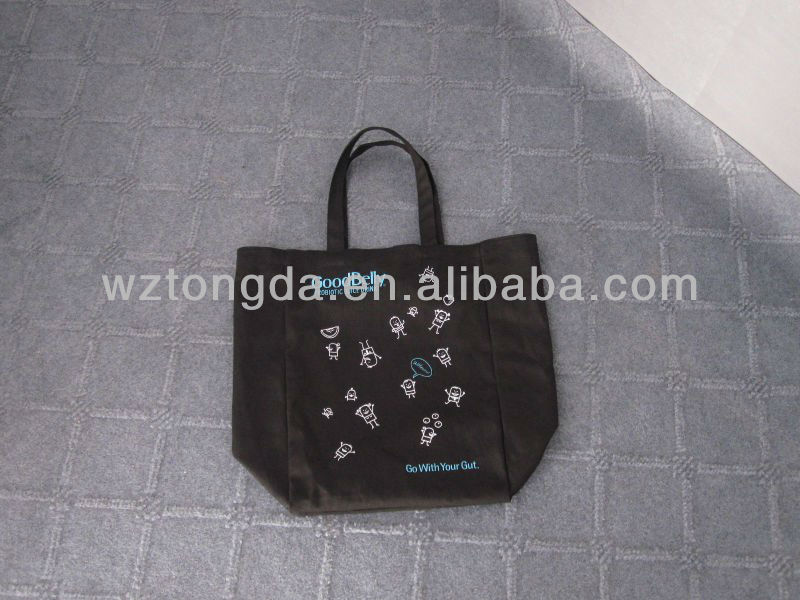 wholesale cotton fabric drawstring bag(WZ0094)
