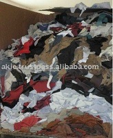 Italy furniture leather scrap, leather waste, shoe leather