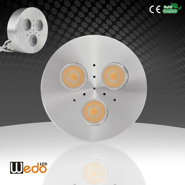 WD-300B-C3W CREE High CRI 12V 3W Recessed Dimmable jewelry showcases led lights