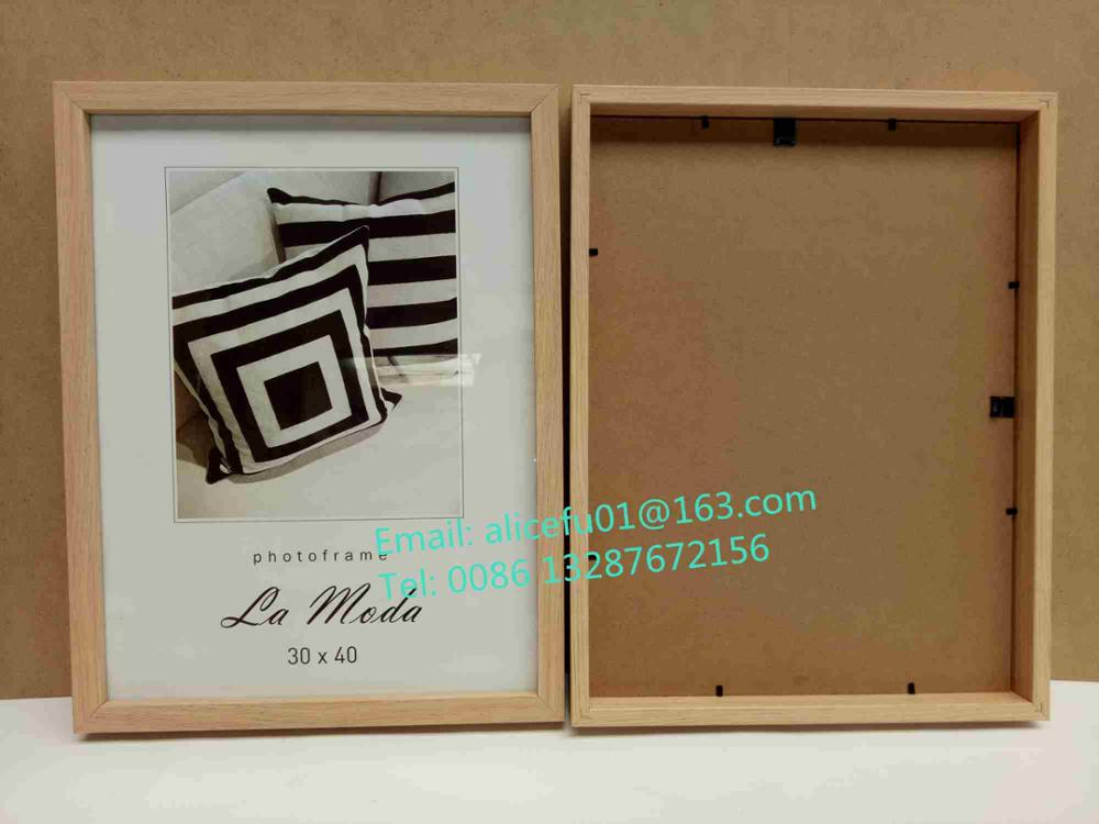 Promotion Gifts 4x6 5x7 6x8 8x10 10x12 A4 A3 A2 A1 <strong>A0</strong> Colored MDF Picture Frame Wooden Photo Frame <strong>Poster</strong> Frame