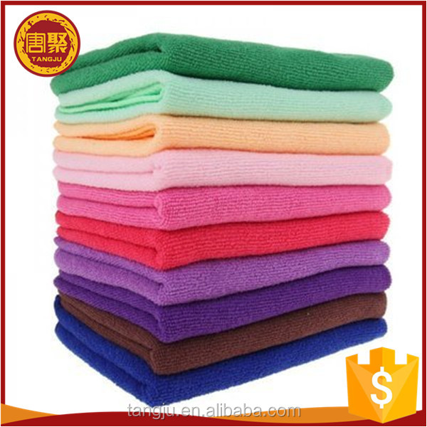 Microfibre Towel 40x40 Car Microfiber Cleaning Cloth