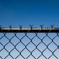black chain link fence cost ( 22 years factory)