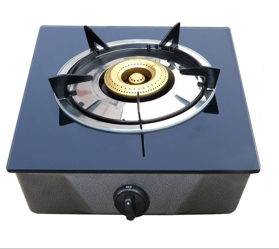 One Burner Glass Table Top Gas Cooker / Gas Burner / Gas Stove with CE certificate