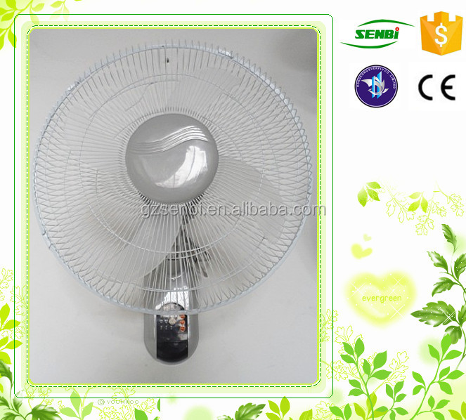 with remote control electric fan spare parts 16 inch wall hanging mount oscillating fan