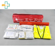 Wholesale Traveler First Aid Medical Box With 37Pcs Kit