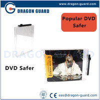 Anti-theft security cd safer, burglarproof safer, eas 8.2 mhz safer
