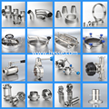 Sanitary stainless steel dairy valves and fittings
