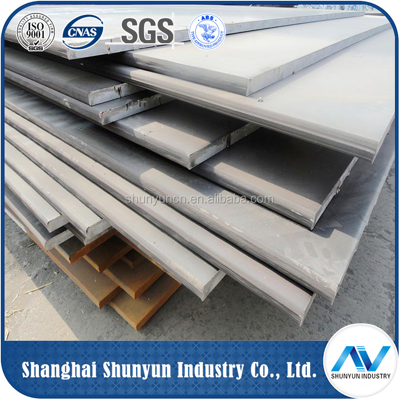 2016 Top Quality high tensile manganese steel plate for shipbuilding