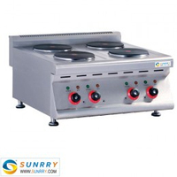 Electric cooking hot plate with 4 cooking range hot plate for cooking (SUNRRY SY-HP600T)