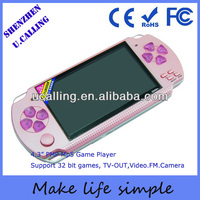 Hot Selling 4.3 inch mp5 game player with free download 8GB Mp5 PMP