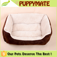 Cheap dog bed square soft beds/ washable lovely pet beds/cheap cute dog beds