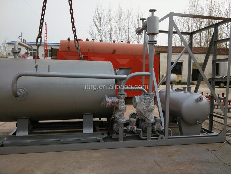 Oil and Gas Fired Thermal Oil Boiler Heating System