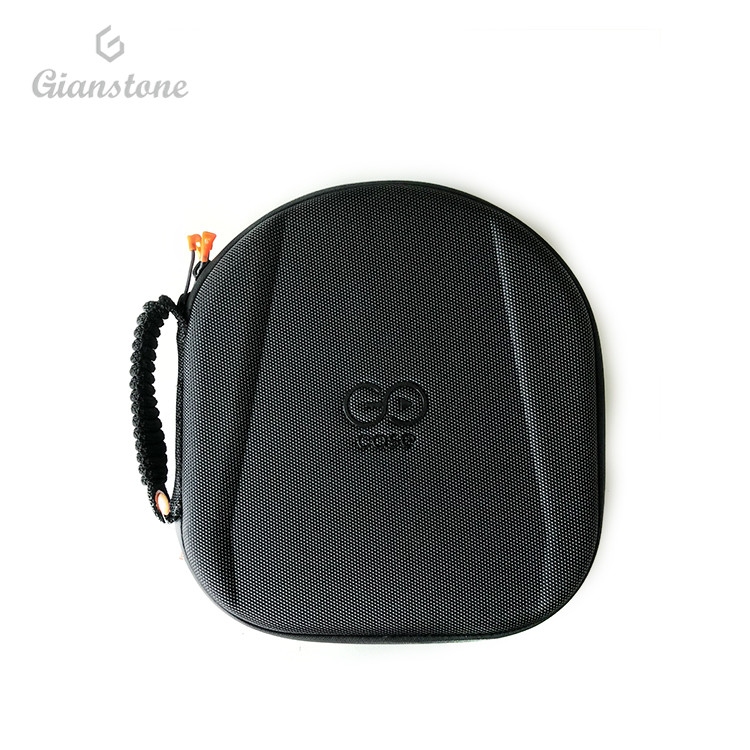Durable <strong>Hard</strong> Black Headphone Carry <strong>Case</strong>