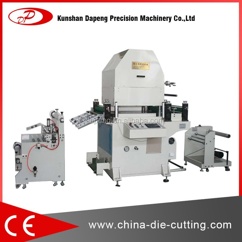 customized roll to roll cutter machine ( flatbed die cutter)