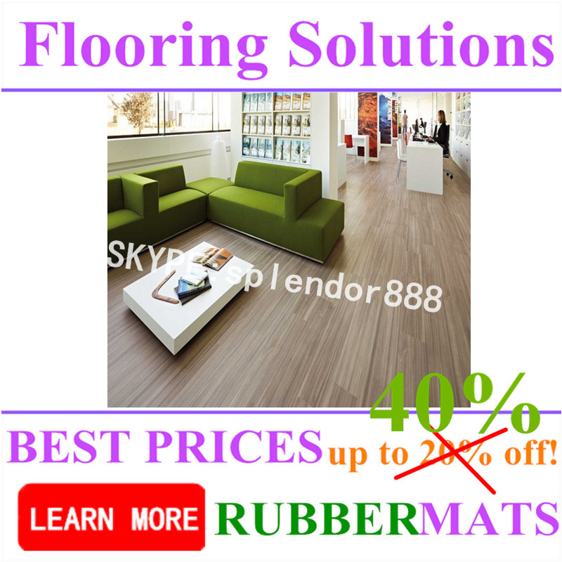 Colorful Soft Waterproof Commercial PVC Roll Flooring