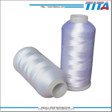 100%Polyester Material and 108D,120D,150D Yarn Count Embroidery thread