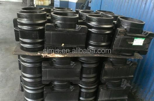 Central rotating seat / trunnion block / Spring saddle