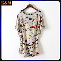 ladies animal print dress casual daily dress for women frocking designs dress for women