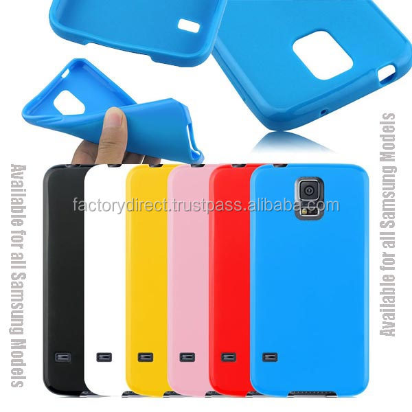 New Gel TPU Silicone Case Cover Pouch Bumper Wallet for Samsung Galaxy S2 II i9100 / Galaxy S3 III i9300 Blue