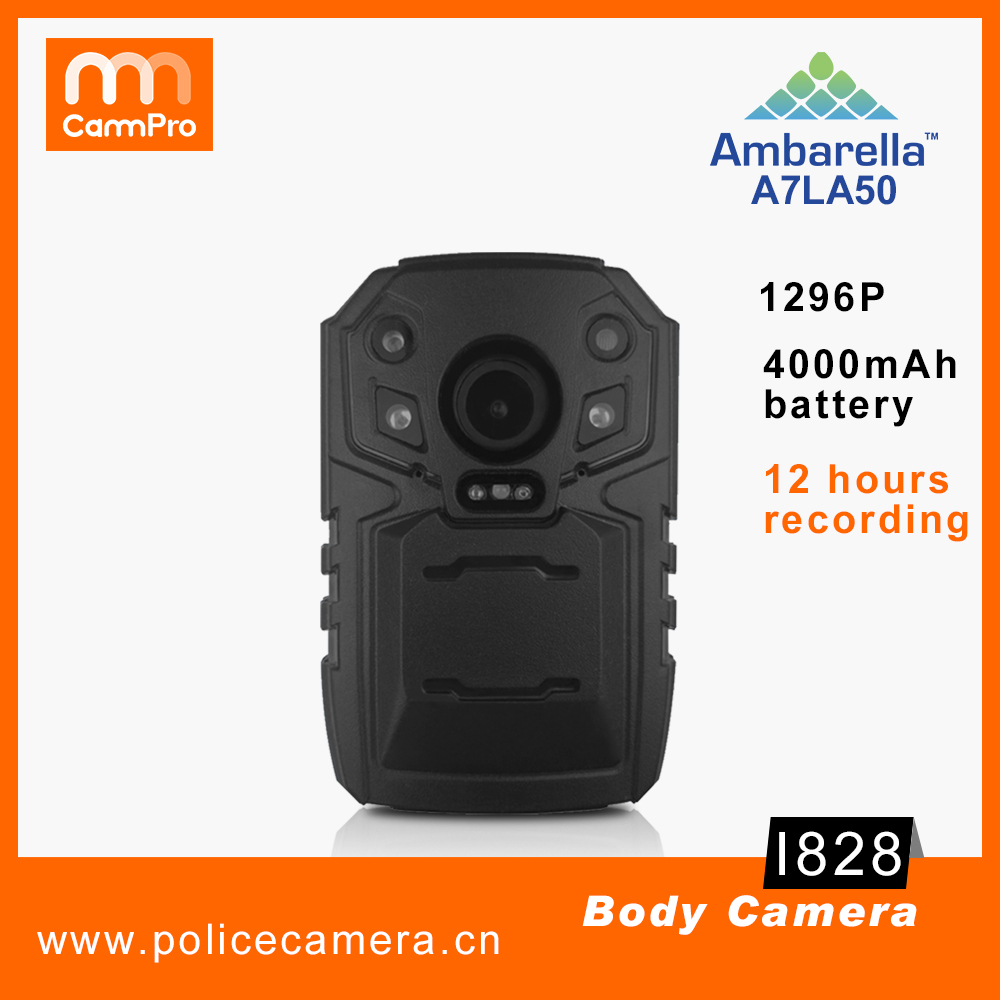 Wholesale cheap long recording 4000mAh Portable Police Video Body Worn Camera special for Military Police Security