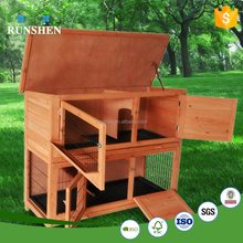 Hot Sale Customize Wooden Pet House Cheap Wooden Fence Panels Outdoor Rabbit Hutch