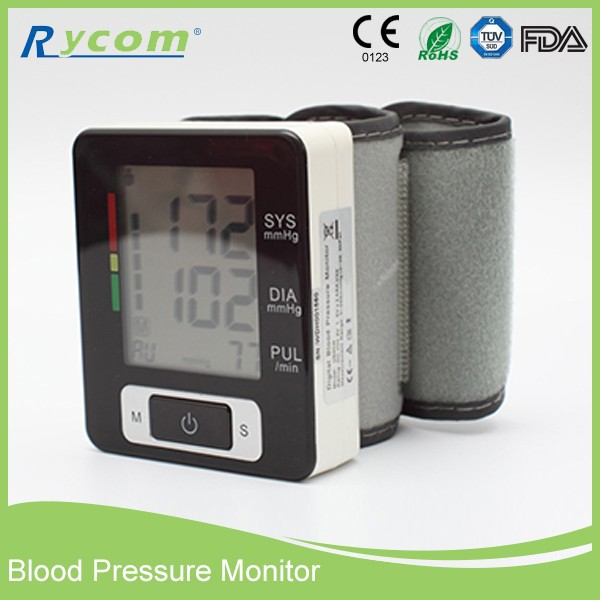 Digital Wrist Type Blood Pressure Monitor CE . FDA Quality Best Monitors For Commercial Use