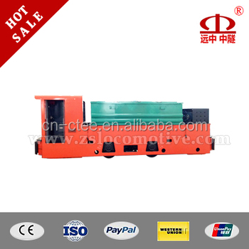 China gold supplier single cab battery 25t battery locomotive for underground mine