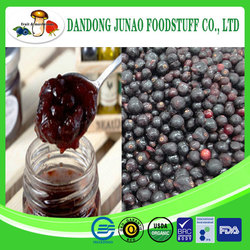 china wild IQF black currant jam wholesale
